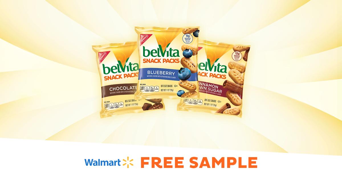 Sample belVita Bites for FREE at Walmart!